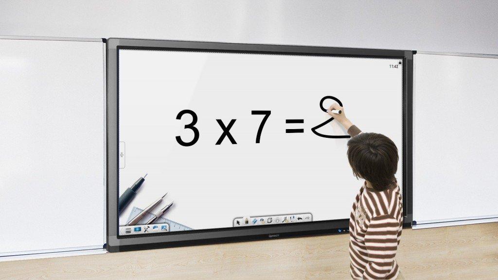 écran interactif école